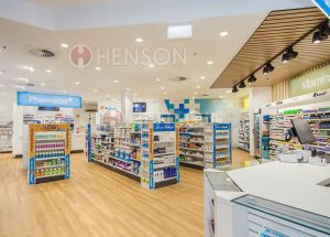 Henson Project Pharmacy Design Shopfitting